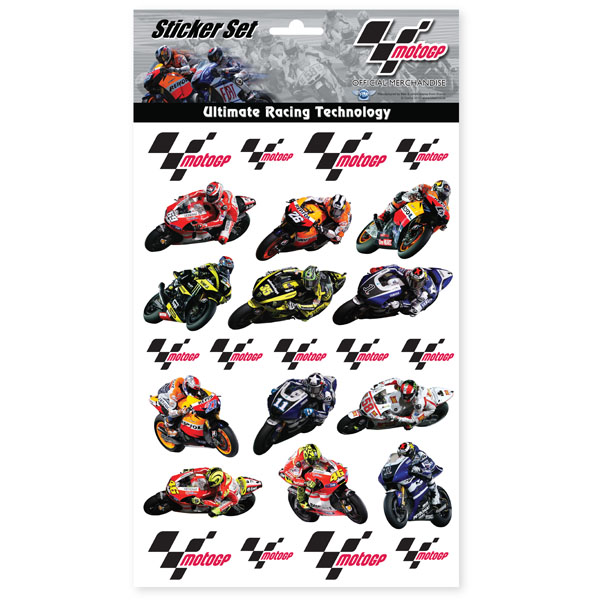 MotoGP Sticker Set review