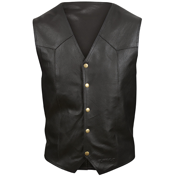 Buffalo Classic Leather Waistcoat review