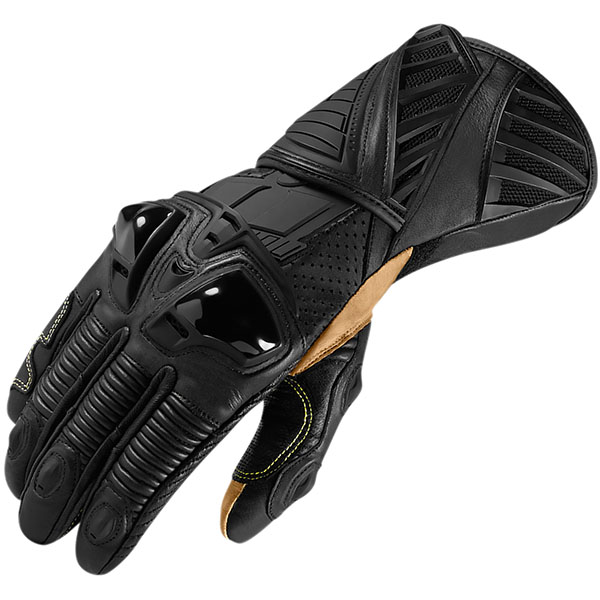 Icon Hypersport Long Leather Gloves review