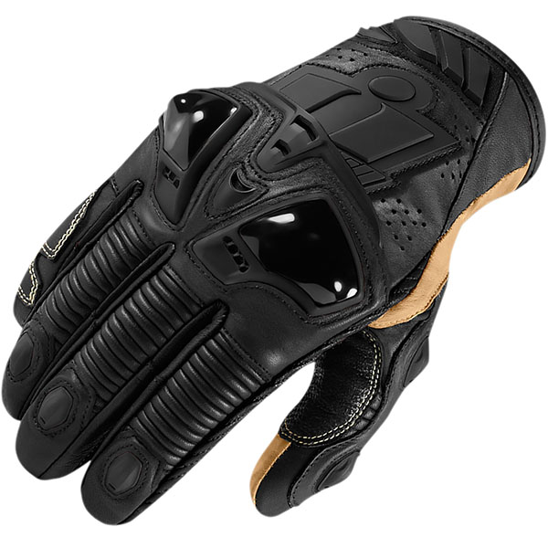 Icon Hypersport Short Leather Gloves review