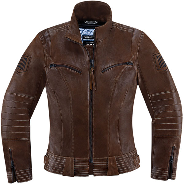 Icon Ladies Fairlady Leather Jacket review