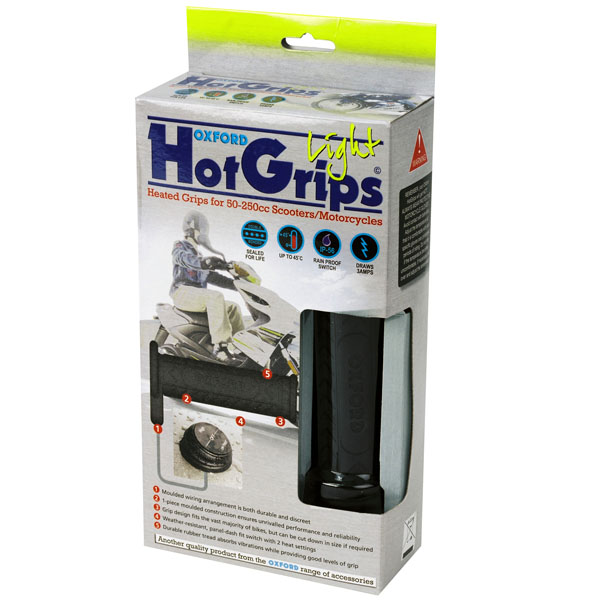 Oxford Heated Hot Grips Light review