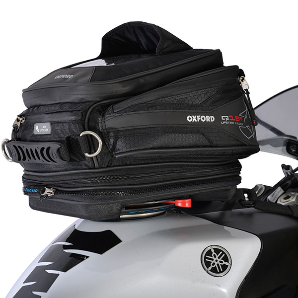 Oxford Lifetime Q15R Quick Release Tank Bag review