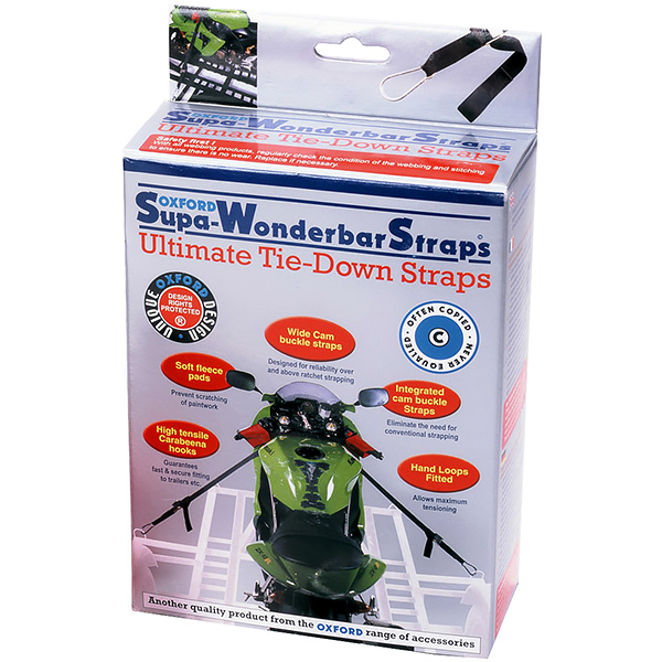 Oxford Supa-Wonderbar Tie DownStraps review