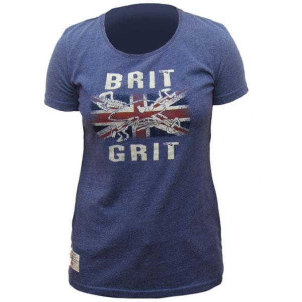 Red Torpedo Ladies Brit Grit Marl T-Shirt review
