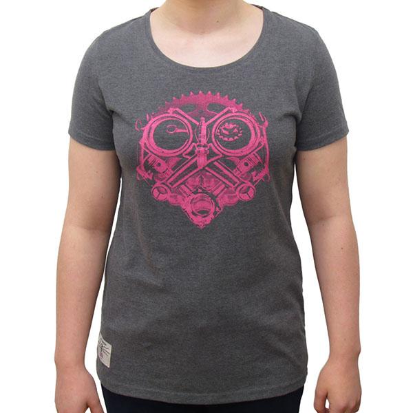 Red Torpedo Ladies Petrolhead Marl T-Shirt review