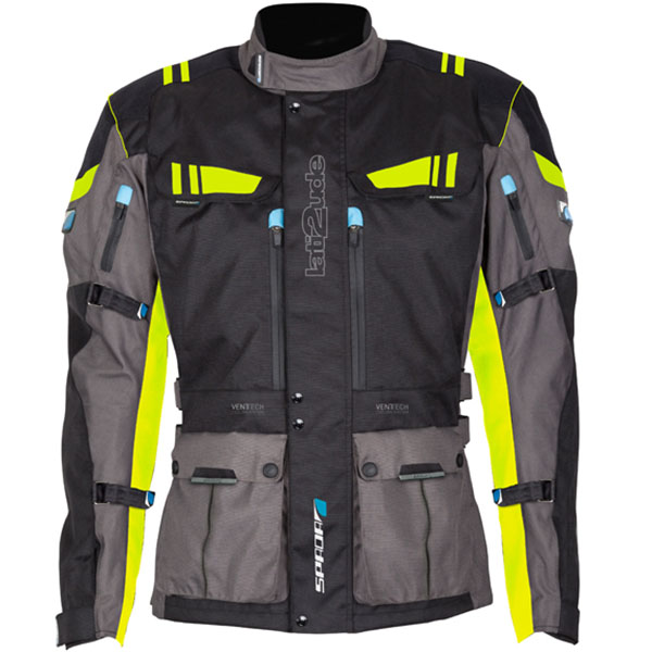 Spada Lati2ude Textile Jacket review